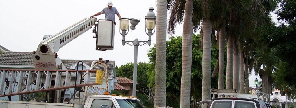 Street Light Electrical Work