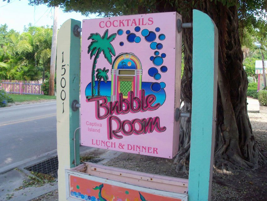 Bubble-Room-Sign