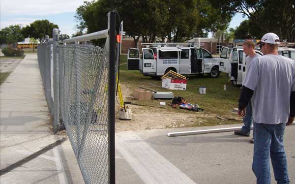 Cypress-Middle-School-Gate-Operation-Installation